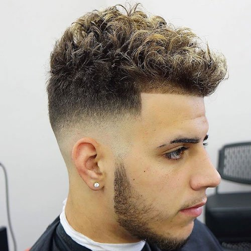 Curly Hair Fade