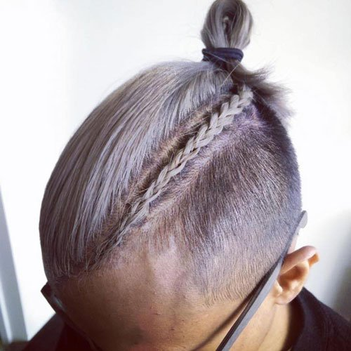 Guy Braids with Undercut