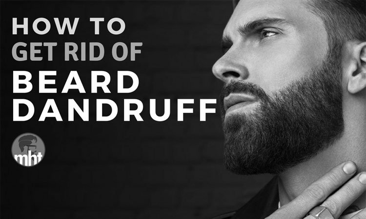 How To Stop Beard Dandruff