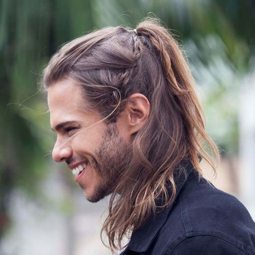 Long Viking Hair and Beard