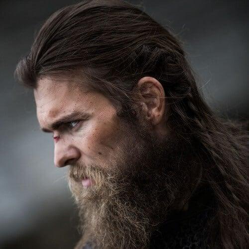Modern Long Viking Hairstyle