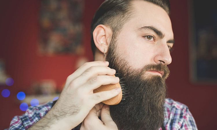 Exfoliate Your Beard With A Boar Bristle Beard Brush