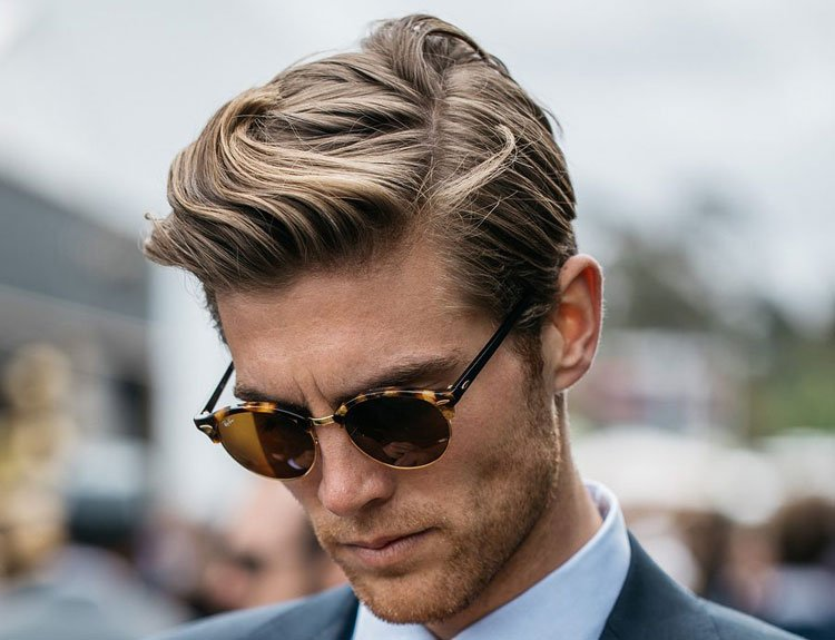 How To Part Men's Hair