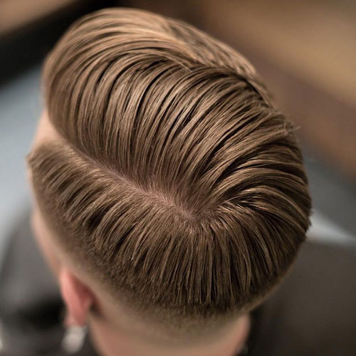 Side Part Fade + Hard Line