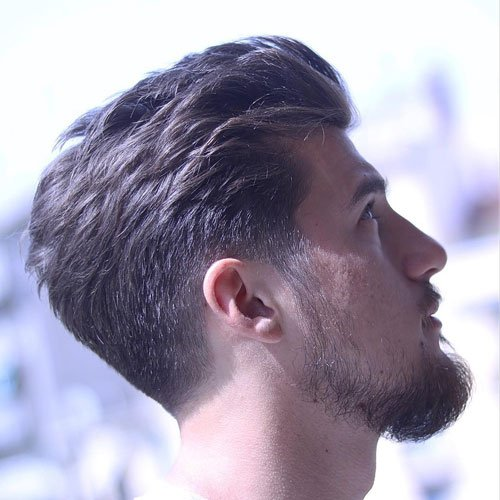 Tapered Sides and Back