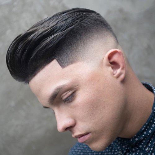 Slick Back Fade Haircut