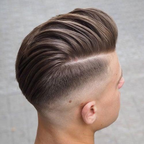 Straight Hair Fade