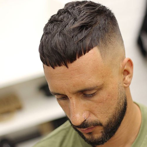 mens haircuts long face best s haircuts for your shape 2019 s 3421 | Long Face Hairstyles Men Short Crop Top