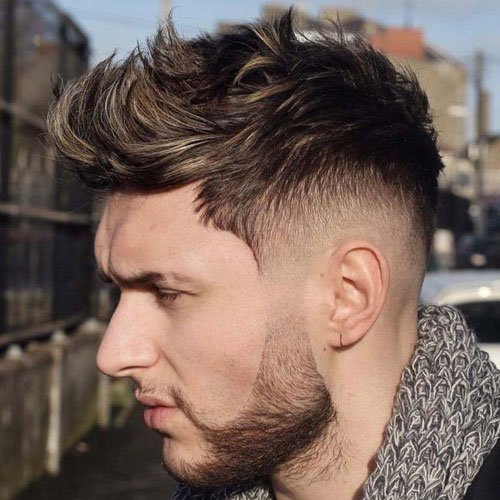 35 Best Faux Hawk Fohawk Haircuts For Men 2019 Guide