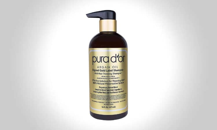 PURA D'OR Original Gold Anti-Thinning Shampoo