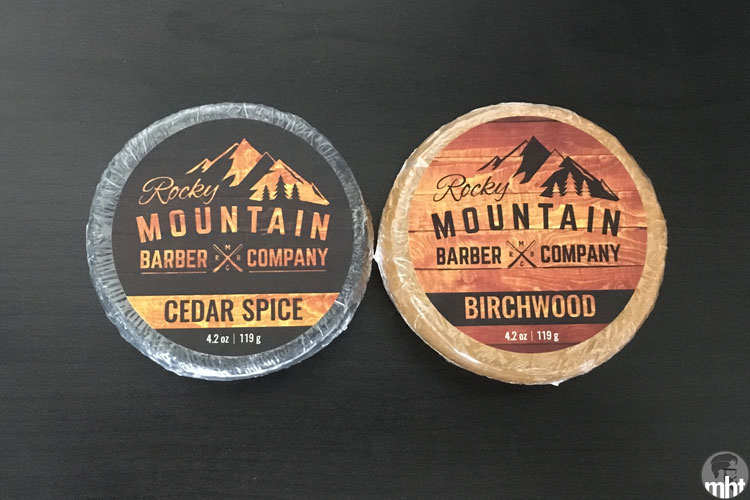 Rocky Mountain Barber Company Bar Soap