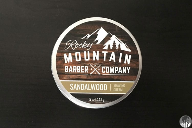 Rocky Mountain Barber Company Shaving Cream