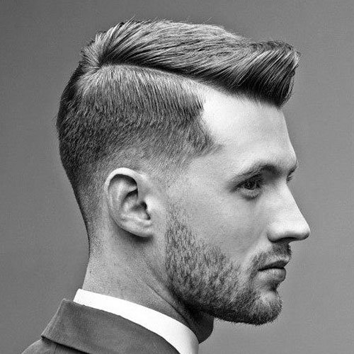 Traditional Side Part Haircut