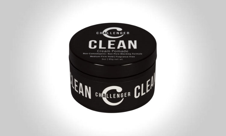 Challenger Clean Non-Comedogenic Cream Pomade