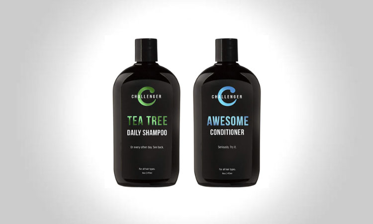 Challenger Daily Men's Shampoo and Conditioner