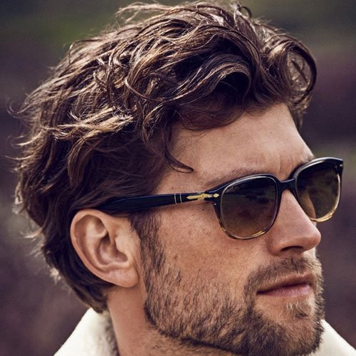 Long Textured Hairstyles For Men