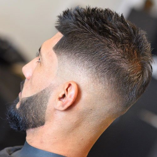Short Textured Fade Haircuts For Men