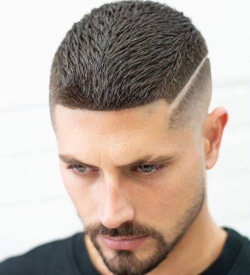Textured Crop Haircut - Low Bald Fade + Short Textured Top