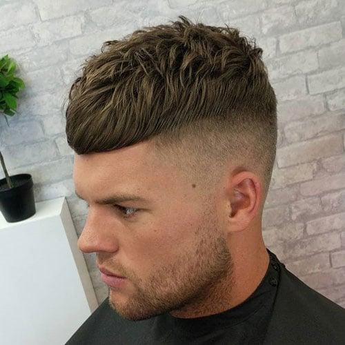 Textured Crop Top Haircut