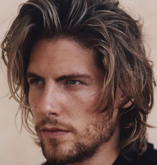 Textured Hairstyles For Long Hair Men