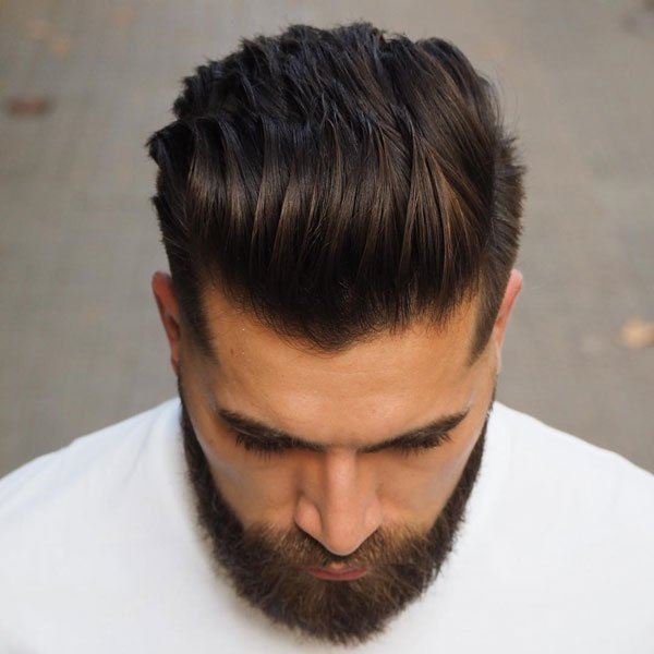 Modern Slick Back Taper Fade