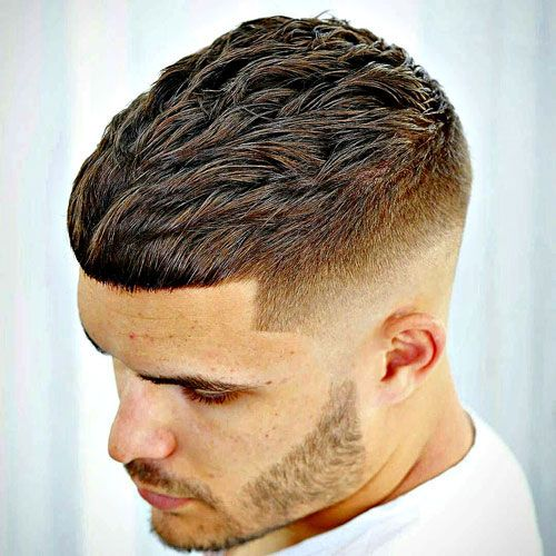 Textured Crop Men's Hairstyle