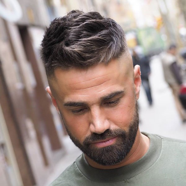 Men's Short Haircuts + Fade