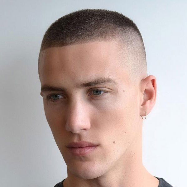 Really Short Men's Haircut