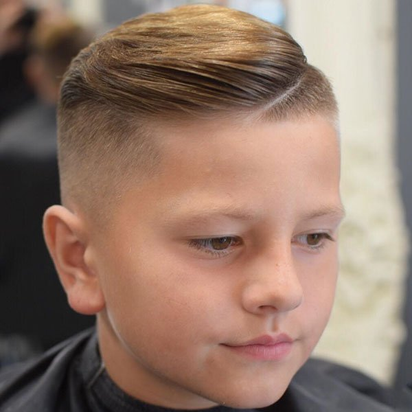 Boys Side Part Haircut