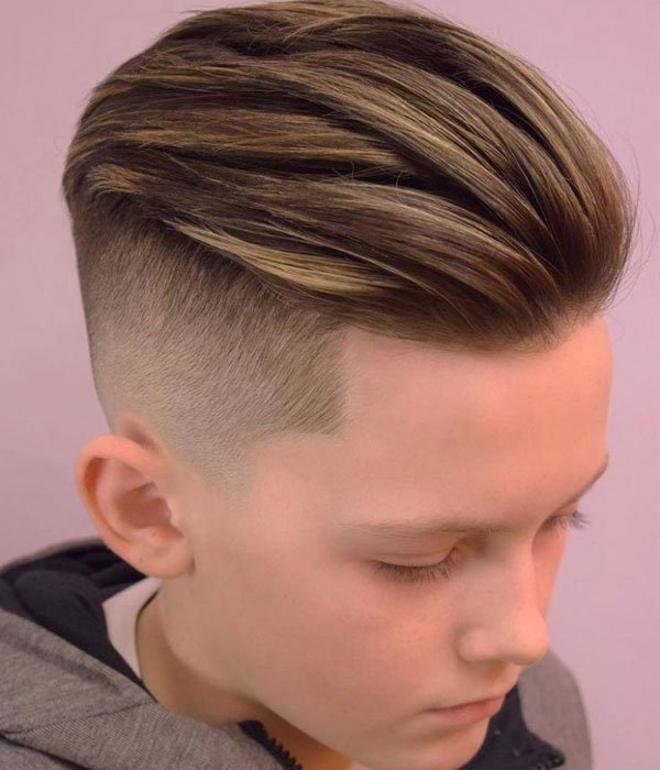 Boys Slick Back Hair Hairstyle