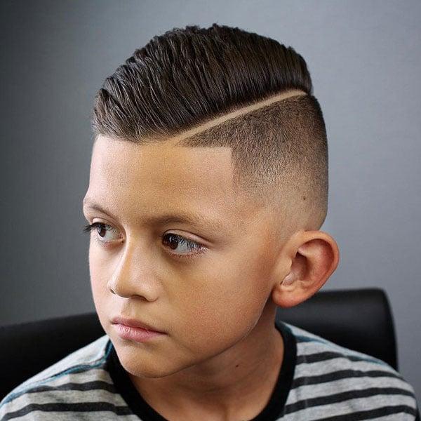 Cool Boys Undercut Haircut