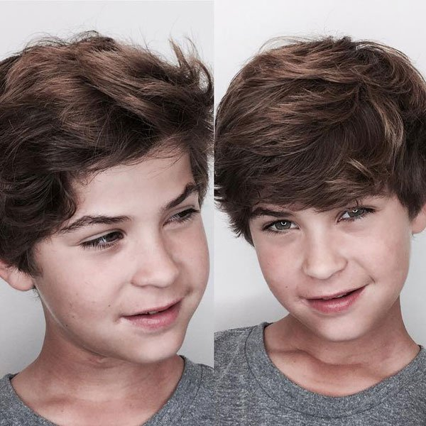 Cool Shaggy Hairstyles For Boys