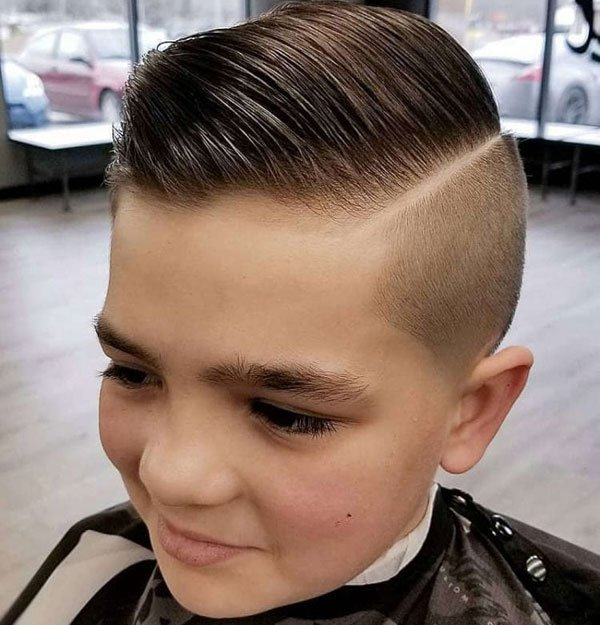 Kids Comb Over Haircut