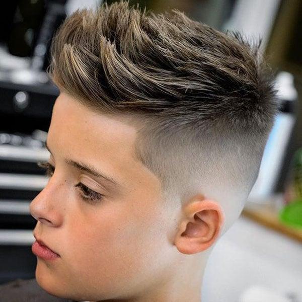 Kids Fade Haircuts