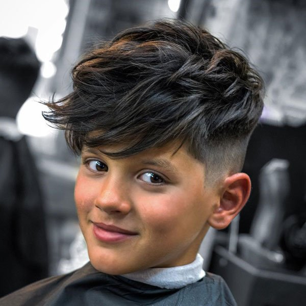 Kids Fringe Hairstyle