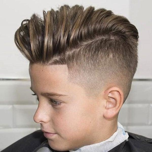 Kids Quiff Haircut
