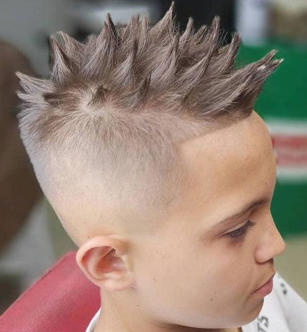 Spiky Boy Haircuts