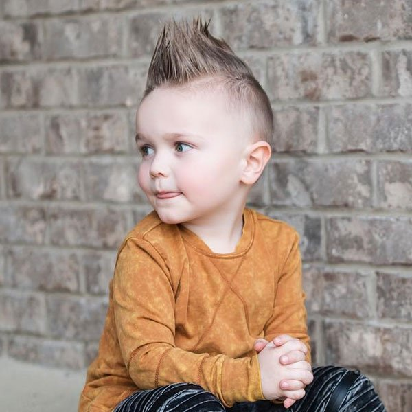 23 Cool Kids Mohawk Haircuts Your Little Boys Will Love