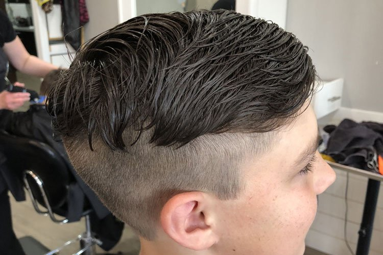 Blended Haircuts For Boys