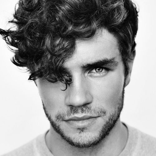 Cool Curly Hairstyles For Guys