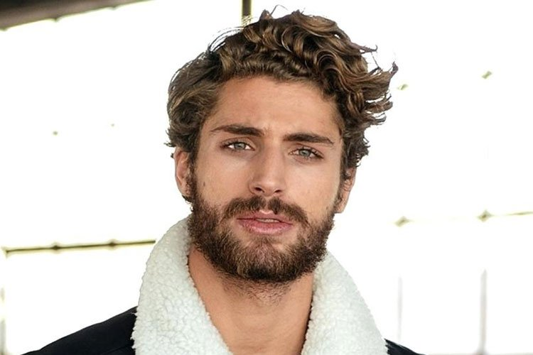 Hairstyles For Men With Curly Hair Long 12