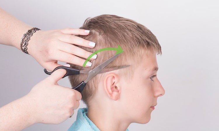 Cut Kids Hair on the Sides