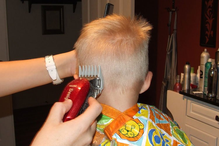 Fade Haircut For Little Boys