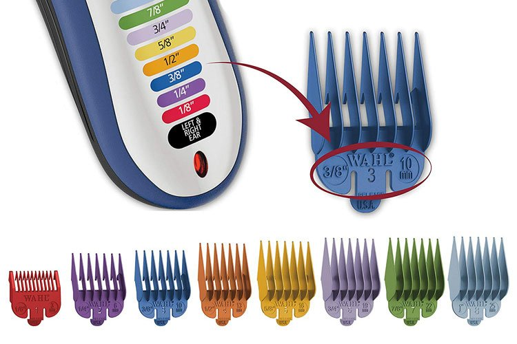 Hair Clippers Guard Sizes