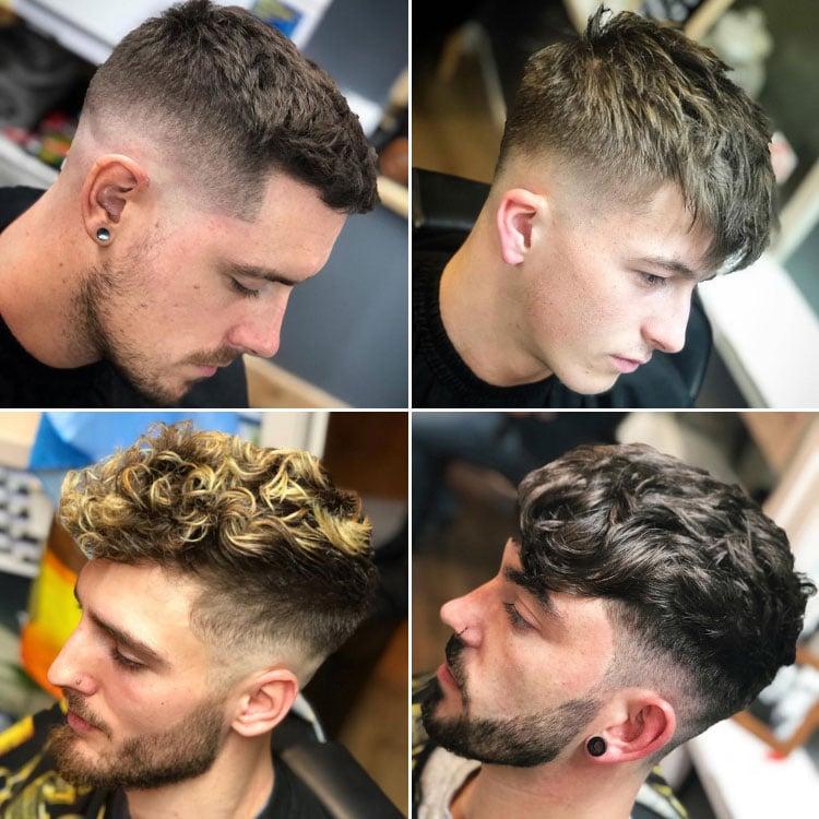 Barber Shop Haircuts