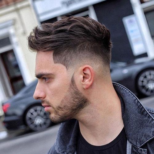 Short Spiky Hair Fade