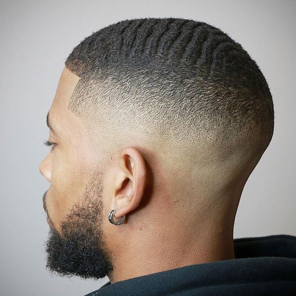 Drop Fade Waves Haircut With Part 37