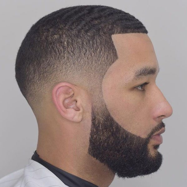 Cool 180 Waves Haircut + Fade