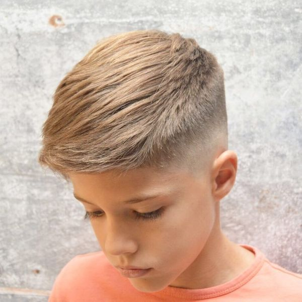 Cool Crew Cut Fade For Boys