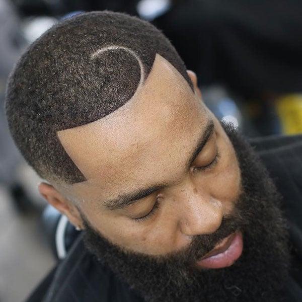 Half Moon Haircut